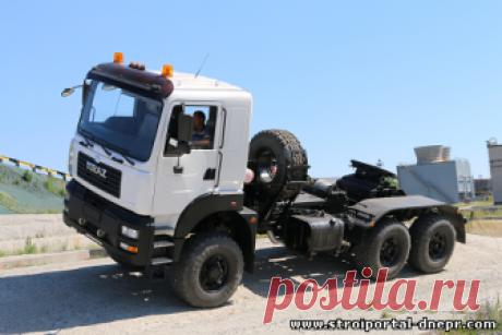 Бескапотный автомат - новый тягач КрАЗ - 22 Июня 2018 - Прораб Днепропетровщины