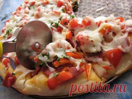 Два рецепта быстрого теста для пиццы