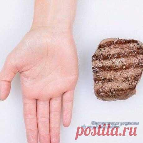 Определяем правильный размер порции еды