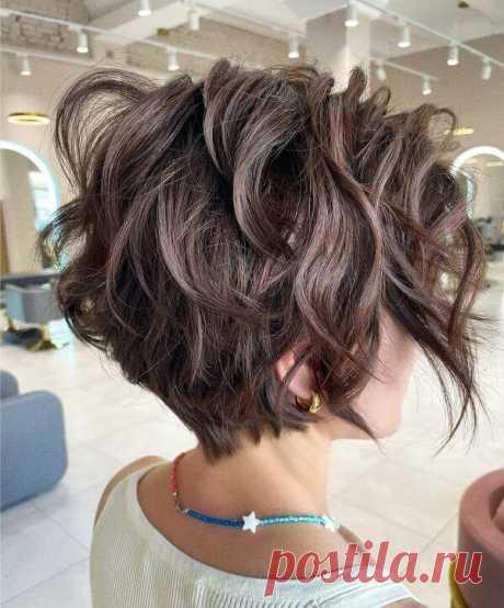 Текстурный боб на короткие волосы: преимущества стрижки