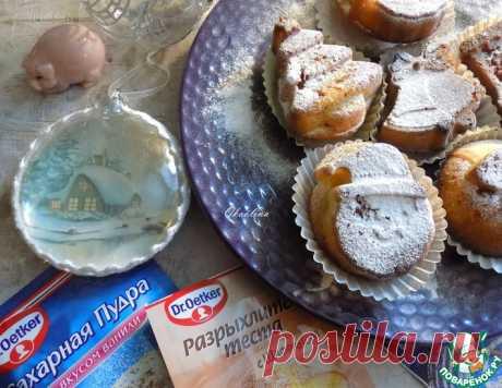 """Кексы """"Новогодние"""" – кулинарный рецепт"""