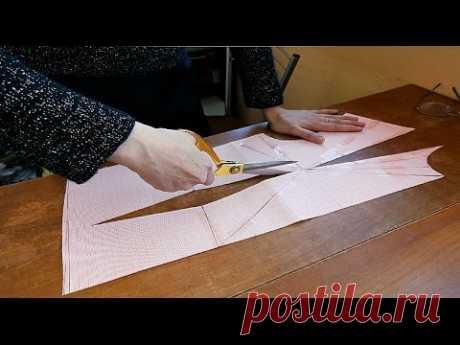 Моделирование лифа  Разрезные рельефы