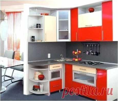 Дизайн маленької кухні. 60 ідей / Облаштування