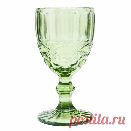 Цветной винный бокал, зеленый. Цена - 163 грн. Купить в Украине на Zakupka.com. ID: 917614221.