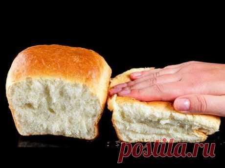 Даже не вериться, что обычный хлеб может быть настолько пышным!   Appetitno.TV