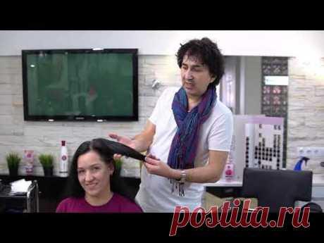 Семинар по красителю Berrywell и техника окраски и стрижки. Чистка цвета с чёрного/ стрижка /укладка