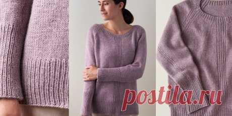 Вязаный пуловер спицами Pasture - Вяжи.ру
