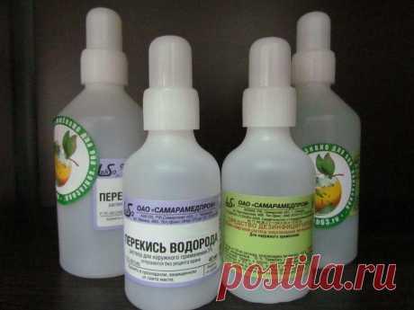 "20 ""умных"" ways of use of peroxide of hydrogen"