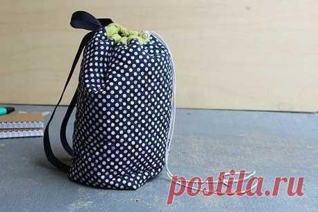 Сшить симпатичный рюкзак — просто! — Сделай сам, идеи для творчества - DIY Ideas