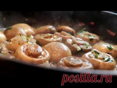 Вкусные грибы, готовые за 10 минут