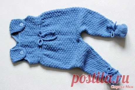 Комплект для новорожденного малыша спицами (часть 1- ползунки) - Страна Мам