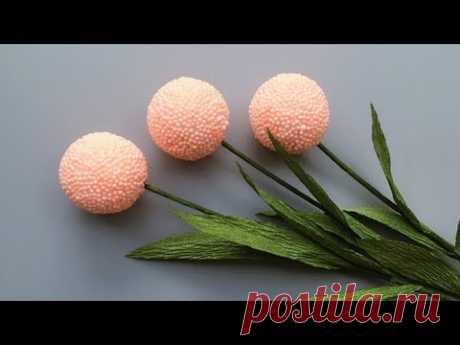 ABC TV | Как сделать цветок из пенных бусин - Учебник по ремеслу