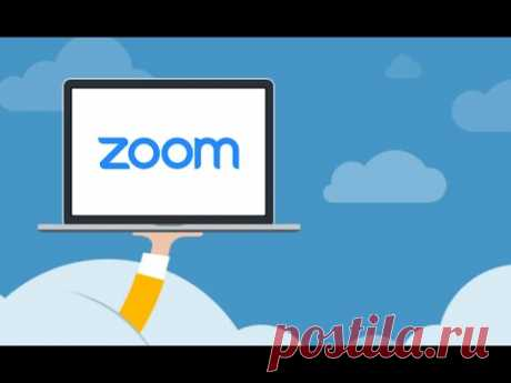 Работа с ZOOM.  Демонстрация экрана