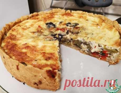 Закусочный пирог из овощей – кулинарный рецепт