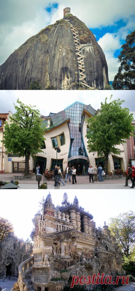 Самые необычные здания в мире   ФОТО НОВОСТИ
