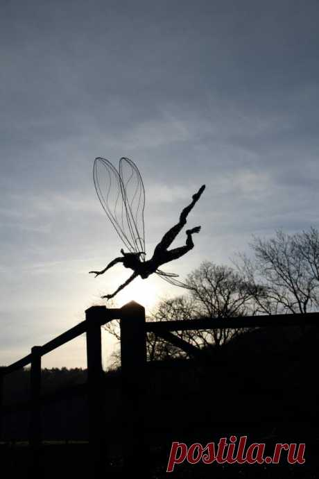 Robin Wight. Сказочные скульптуры