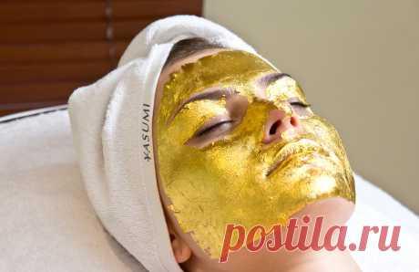 Золотая маска для лица. Как наносить и есть ли эффект?