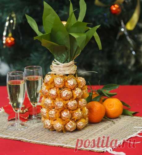 Как украсить бутылку шампанского на Новый год: фото новогоднего декора своими руками