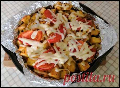 Как приготовить картофель с курицей, вкуснее чем, в ресторане! - Ваши любимые рецепты - медиаплатформа МирТесен