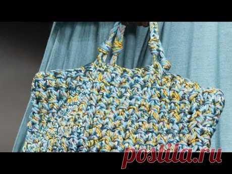 Модные большие вязаные сумки 2020-2021 - Fashion large knitted bags 2020-2021