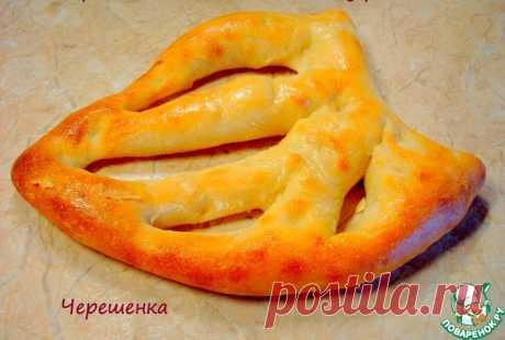 """Хлеб от Ришара Бертине """"Фугасс"""" Кулинарный рецепт"""