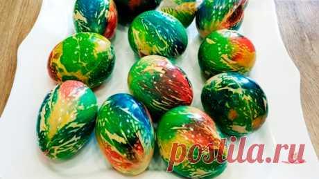 Как красиво покрасить яйца - Лучший сайт кулинарии