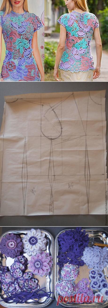 Как я делаю выкройку для ирландского кружева. - Ярмарка Мастеров - ручная работа, handmade