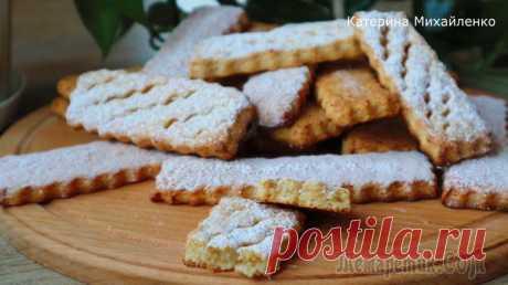 Чудо печенье из творога и меда! Просто, быстро и очень вкусно!