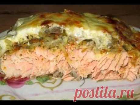 Филе рыбы под овощной шубой Приятного аппетита! - YouTube