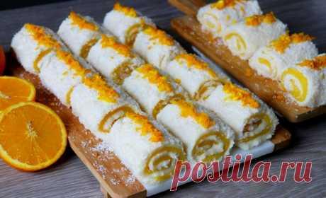 Вкуснейший белый Султан Лукум с апельсиновой прослойкой - простой проверенный рецепт от турецких хозяек. Нежный, тающий во рту десерт без выпечки!