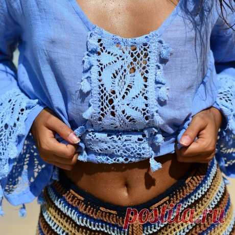 Детали одежды крючком | Аmazing Ideas Gallery | Яндекс Дзен
