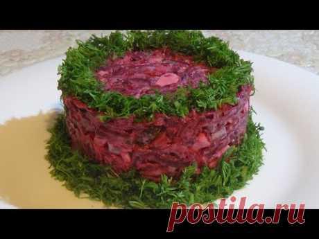 Простой и такой вкусный салат! Обалденное сочетание продуктов. Simple and so tasty salad!