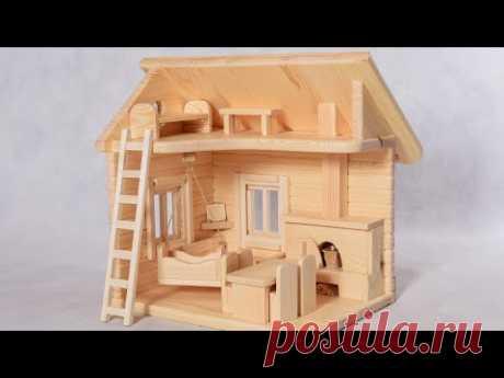 Кукольный домик из дерева. Часть 1. Делаем стулья для кукол
