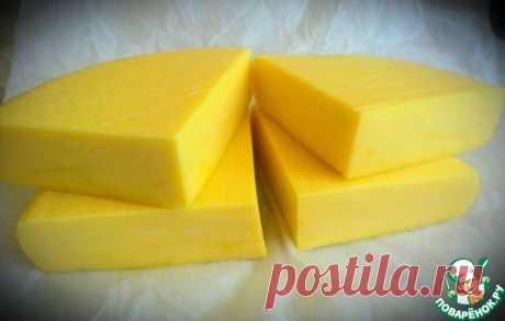 Твердый сыр по-домашнему