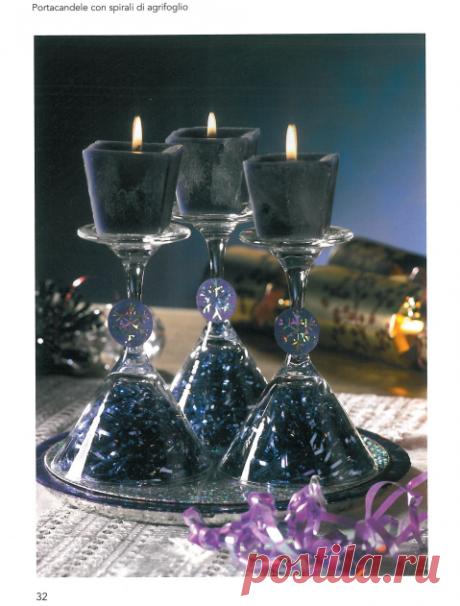 Красивые украшения для Рождественского стола СВОИМИ РУКАМИ!.