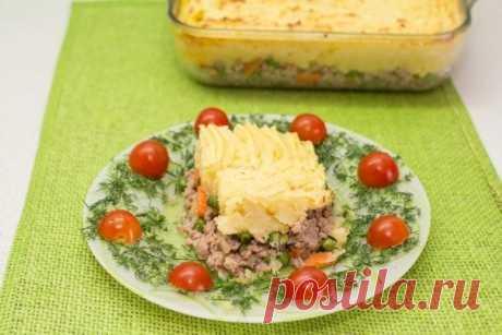 Как приготовить картофельная запеканка - рецепт, ингридиенты и фотографии