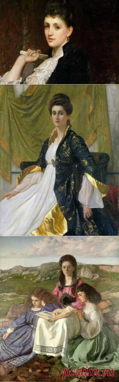 Художник Уильям Блейк Ричмонд (William Blake Richmond) Картины