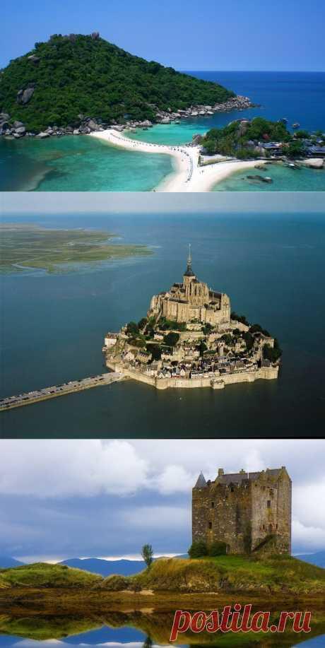 » Приливные острова: рай или ад? Это интересно!