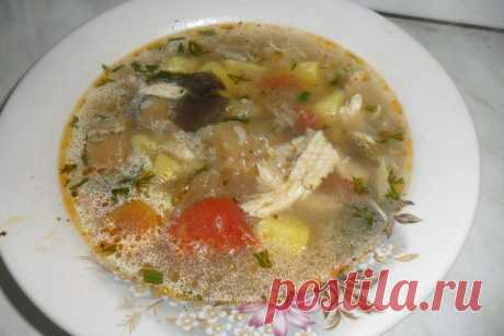 (+1) - Куриный суп с баклажанами | Любимые рецепты