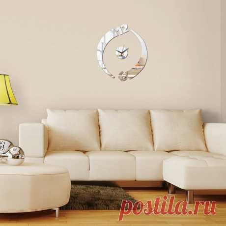 Кварцевые настенные часы, акриловые зеркальные наклейки для домашнего декора, современный дизайн гостиной, 2020|stickers modern|mirror stickeracrylic mirror sticker | АлиЭкспресс