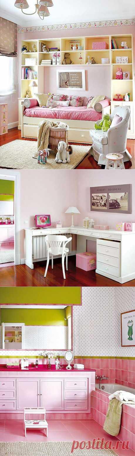 Детская комната с ванной | Фотографии красивых интерьеров