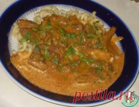 Говядина в томатно-горчичном соусе – кулинарный рецепт