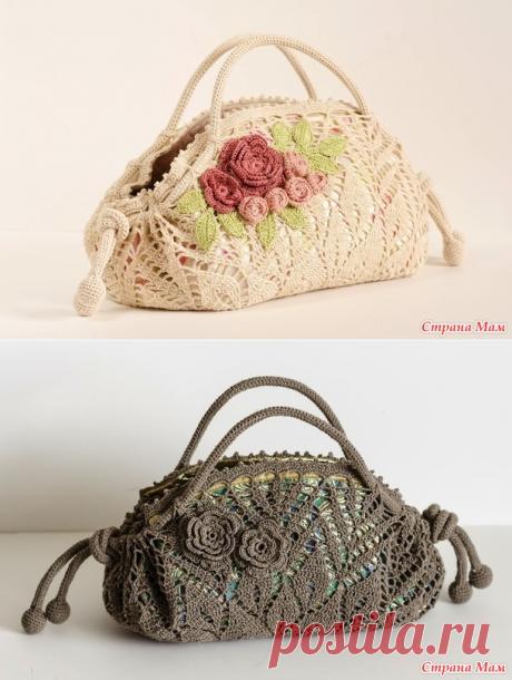 Los bolsos hermosos de las servilletas redondas