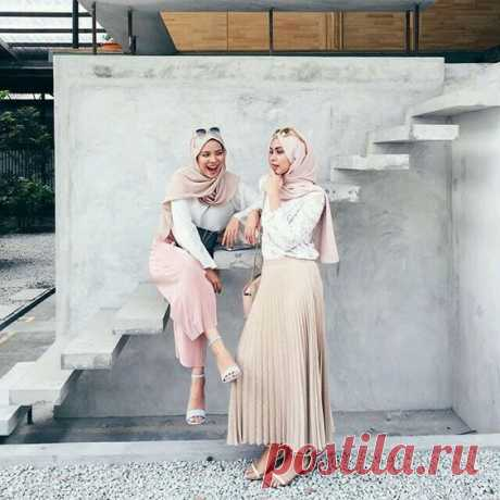 What to Wear Hijab in Nude Scarf - Hijab-style.com