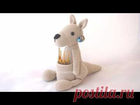 Canguro amigurumi tutorial - YouTube