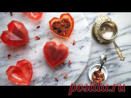 How to make Tea Bombs with Sugar   Detailed Steps to make Pretty Tea Bombs!