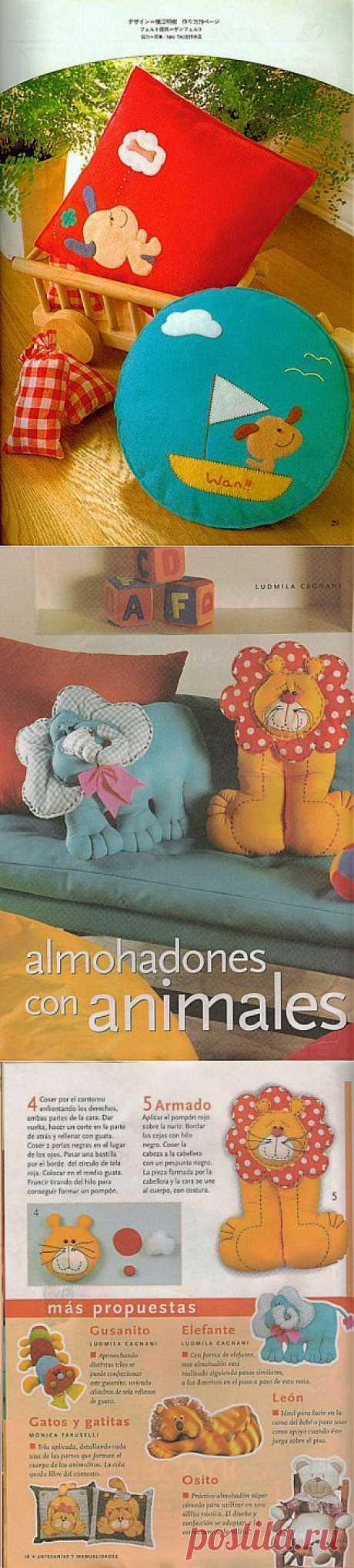¡Las almohadas entretenidas infantiles!.