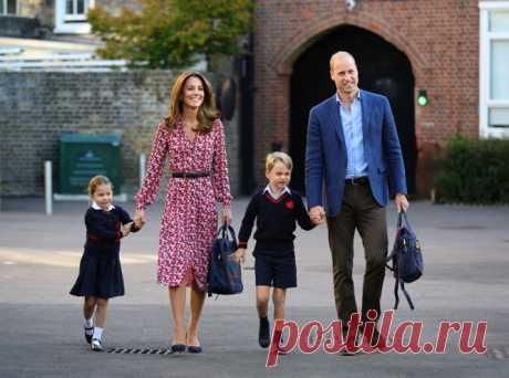 Как герцогиня Кейт копирует стиль воспитания принцессы Дианы