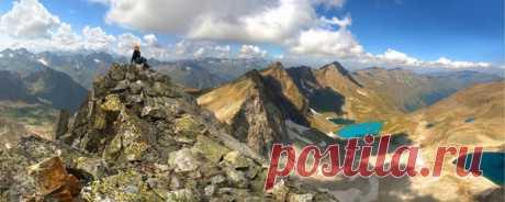 Высота горы Гранитной (Инпси) – 3211м. Район Имеретинских озер, Карачаево-Черкесия. Фотограф – Валерий Одинцов: nat-geo.ru/community/user/221826