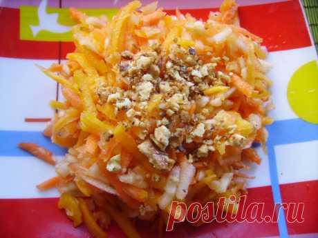 Вкусный салат из тыквы для похудения | Блог Лены Радовой